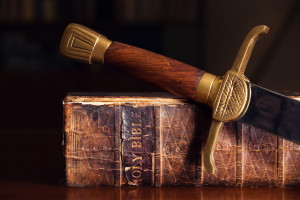 dreamstime_Bible with Sword