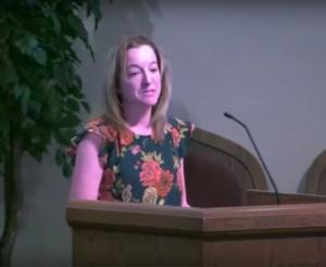 Faith Connovich Testimony for the Adventist Church