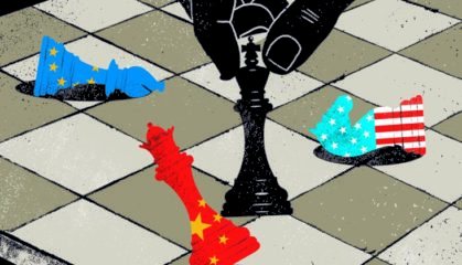 New World Order Chess Game