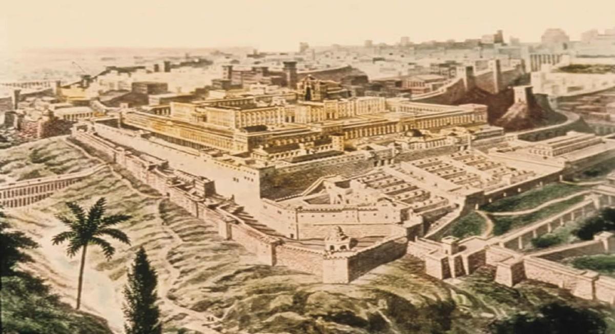 Solomon's Temple in Ancient Jerusalem